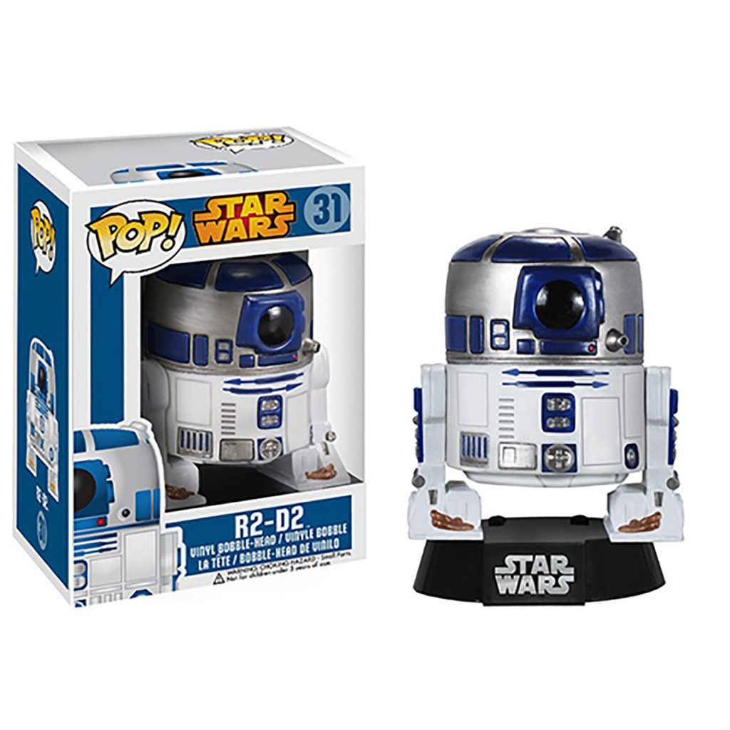 Toy - POP - Vinyl Bobble Figure - Star Wars - R2-D2