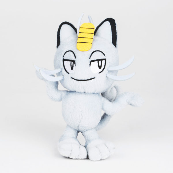 "Toy - Plush - Pokemon - 5"" Meowth Alolan Form Plush"