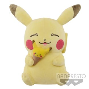 "Toy - Plush - Pokemon - 10"" Pikachu Tea Party"