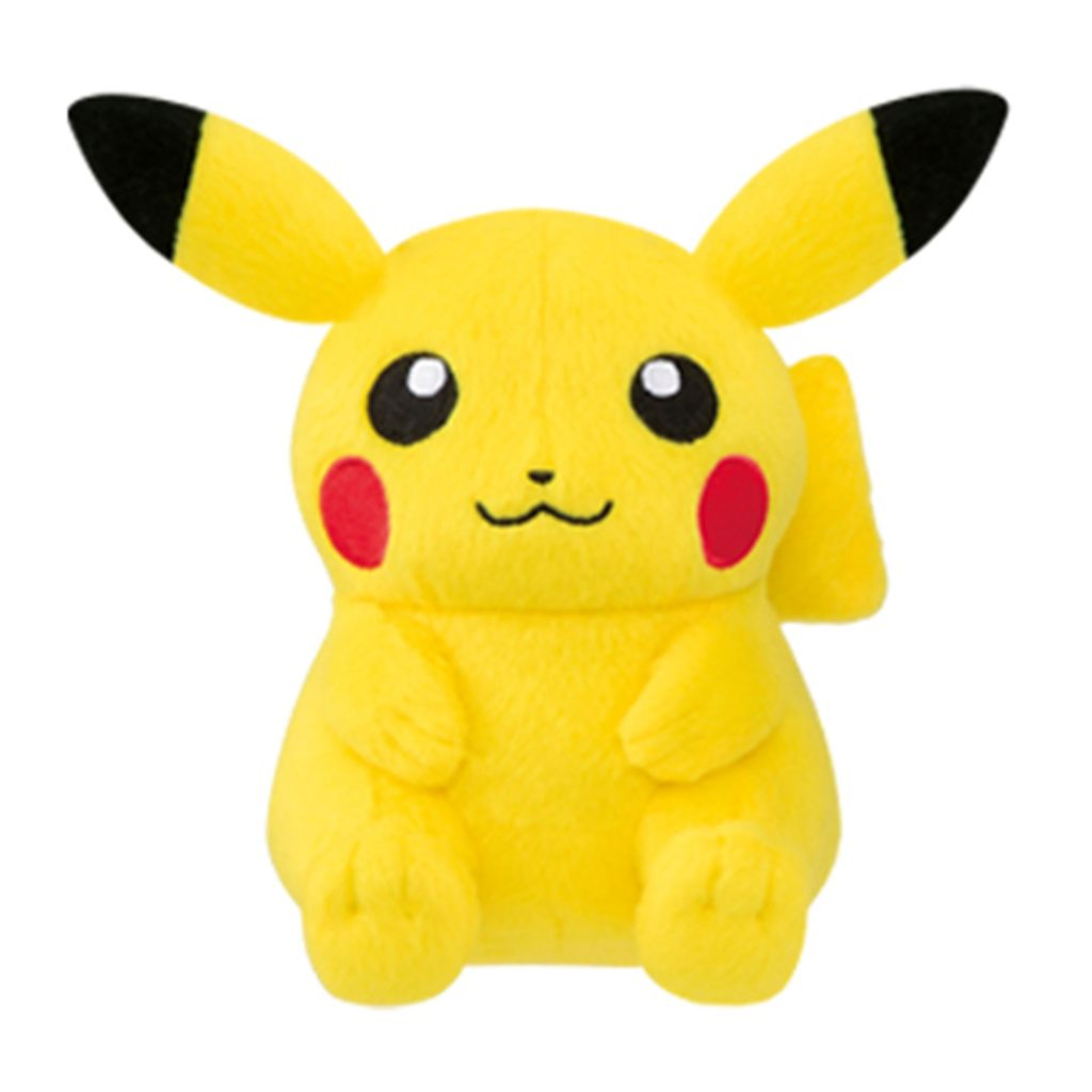 "Toy - Plush - Pokemon - 5"" Pokemon The Movie - Pikachu"