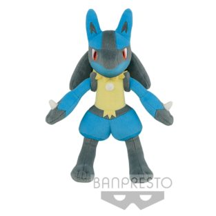 "Toy - Plush - Pokemon - 10"" Pokemon The Movie - Lucario"