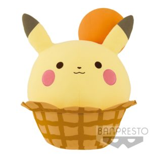 "Toy - Plush - Pokemon - 15"" Pikachu Ice Cream"
