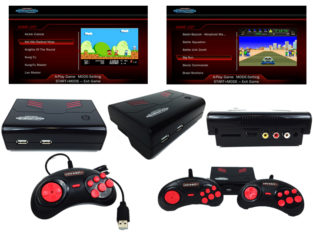 Retro-Bit Generations - Plug And Play Game Console - Red/Black (Retro-Bit)