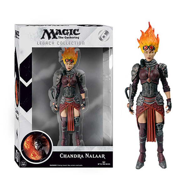 Toy - Vinyl Figure - Magic The Gathering - Legacy Collection - Chandra Nalaar
