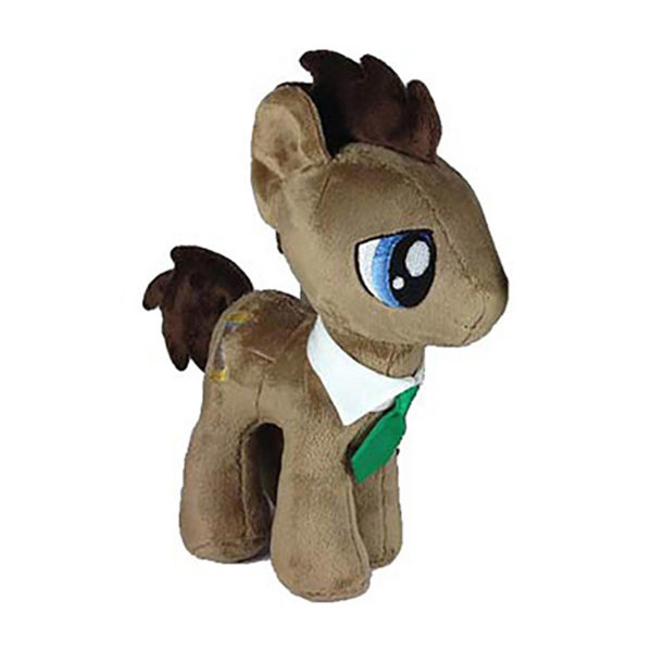 """Toy - Plush - My Little Pony - Dr. Hooves - Cool Eyes (Closed Eyes) - 10.5"""""""