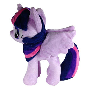 Toy - Plush - My Little Pony - Twilight Sparkle - Open Wings (Big Wings) - 10.5""