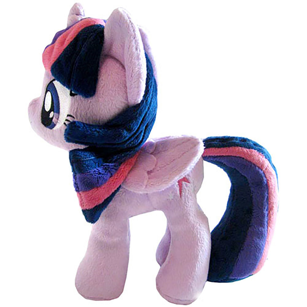 """Toy - Plush - My Little Pony - Twilight Sparkle - Closed Wings (Small Wings) - 10.5"""""""