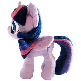 Toy - Plush - My Little Pony - Twilight Sparkle - Closed Wings (Small Wings) - 10.5""