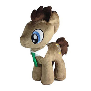 Toy - Plush - My Little Pony - Dr. Hooves - Wide Eyes - 10.5""