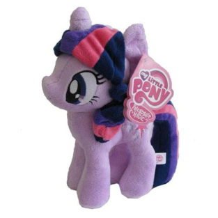 Toy - Plush - My Little Pony - Twilight Sparkle - No Wings - 10.5""
