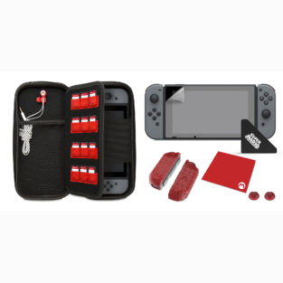 Switch - Bundle - Starter Kit - Mario 'M' Edition (PDP)