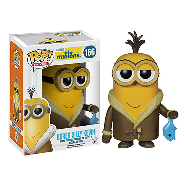 Toy - POP - Vinyl Figure - Minions - Bored Silly Kevin