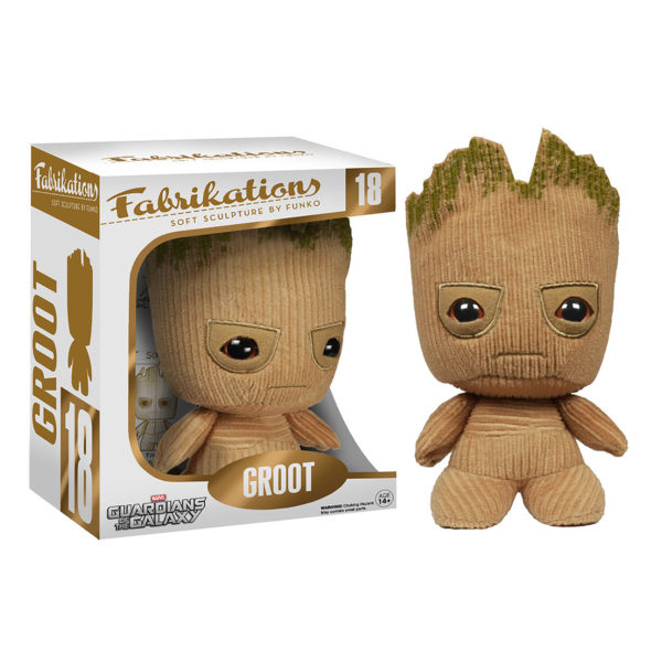 Toy - Guardians Of The Galaxy - Fabrikations Plush - Groot (Marvel)