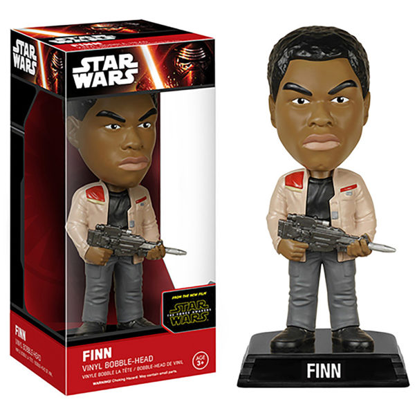 Toy - Star Wars: The Force Awakens - Wacky Wobbler -  Finn