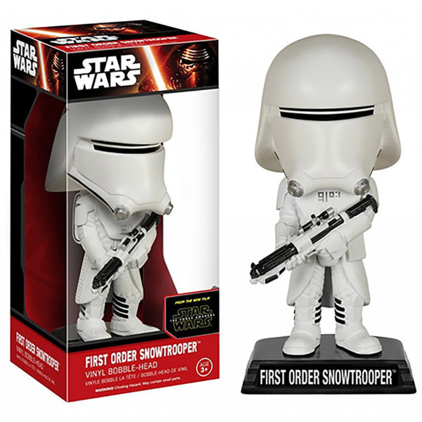 Toy - Star Wars: The Force Awakens - Wacky Wobbler - First Order Snowtrooper