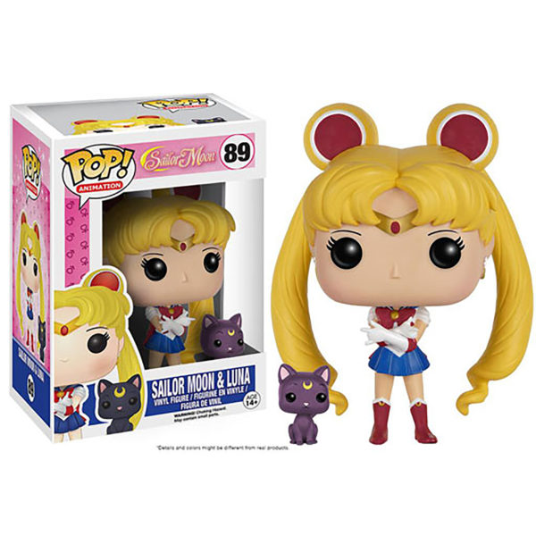 Toy - POP - Vinyl Figure - Sailor Moon - Sailor Moon and Luna
