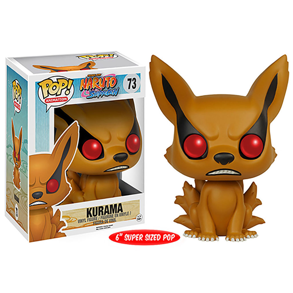 Toy - Over Sized POP - Vinyl Figure - Naruto - Kurama
