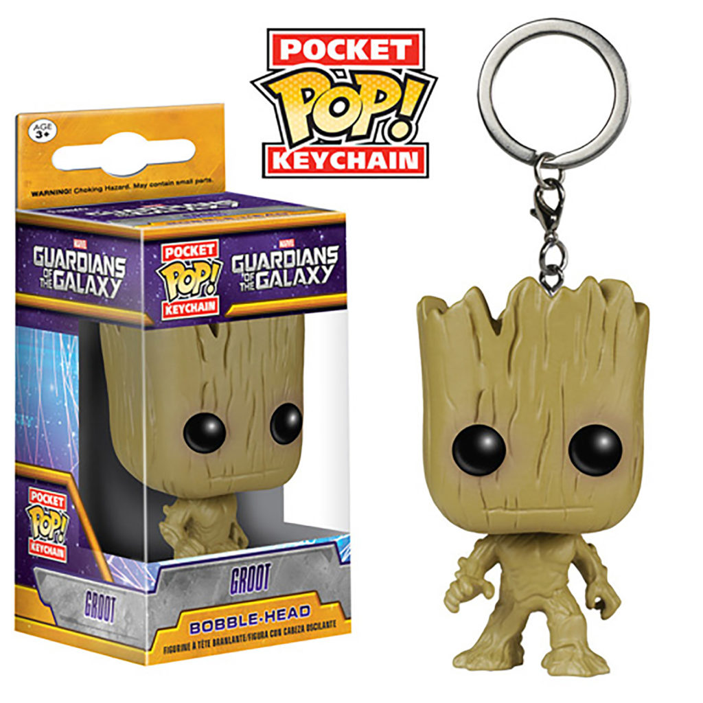 Toy - Pocket POP Keychain- Vinyl Figure - Guardians of the Galaxy - Groot (Marvel)