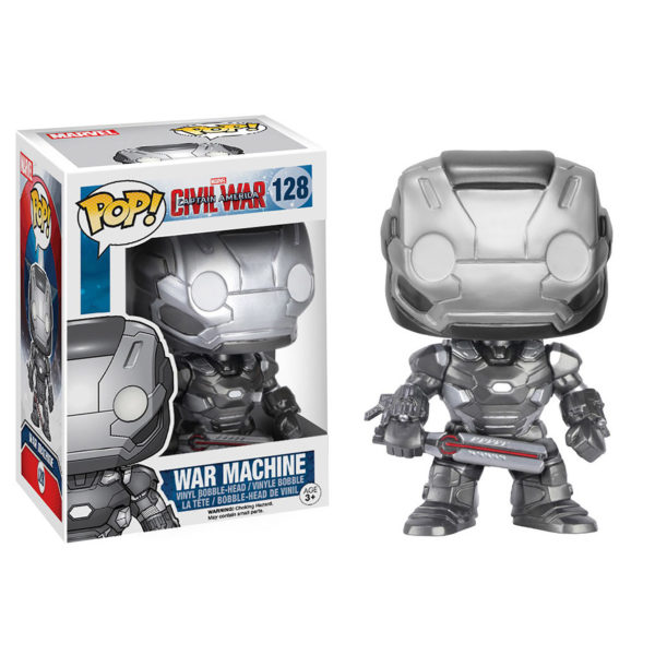 Toy - POP - Vinyl Figure - Marvel: Civil War - War Machine