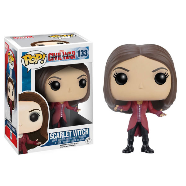 Toy - POP - Vinyl Figure - Marvel: Civil War - Scarlet Witch