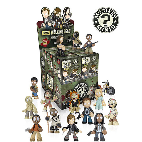 Toy - Walking Dead - Mystery Mini Figures - S4 - 12 pc PDQ