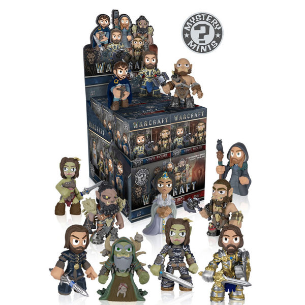 Toy - Warcraft Movie - Mystery Mini Figures - 12 pc PDQ