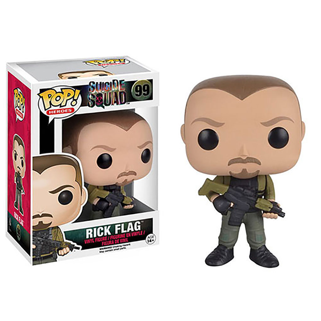 Toy - POP - Vinyl Figure - Suicide Squad - Rick Flagg