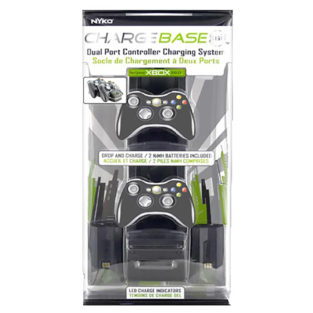 Xbox 360 - Charger - Charge Base - Black (Nyko)