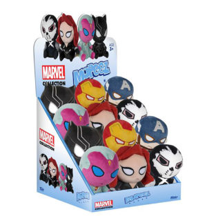 Toy - Plush - Mopeez - Captain America: Civil War - 12 pc PDQ