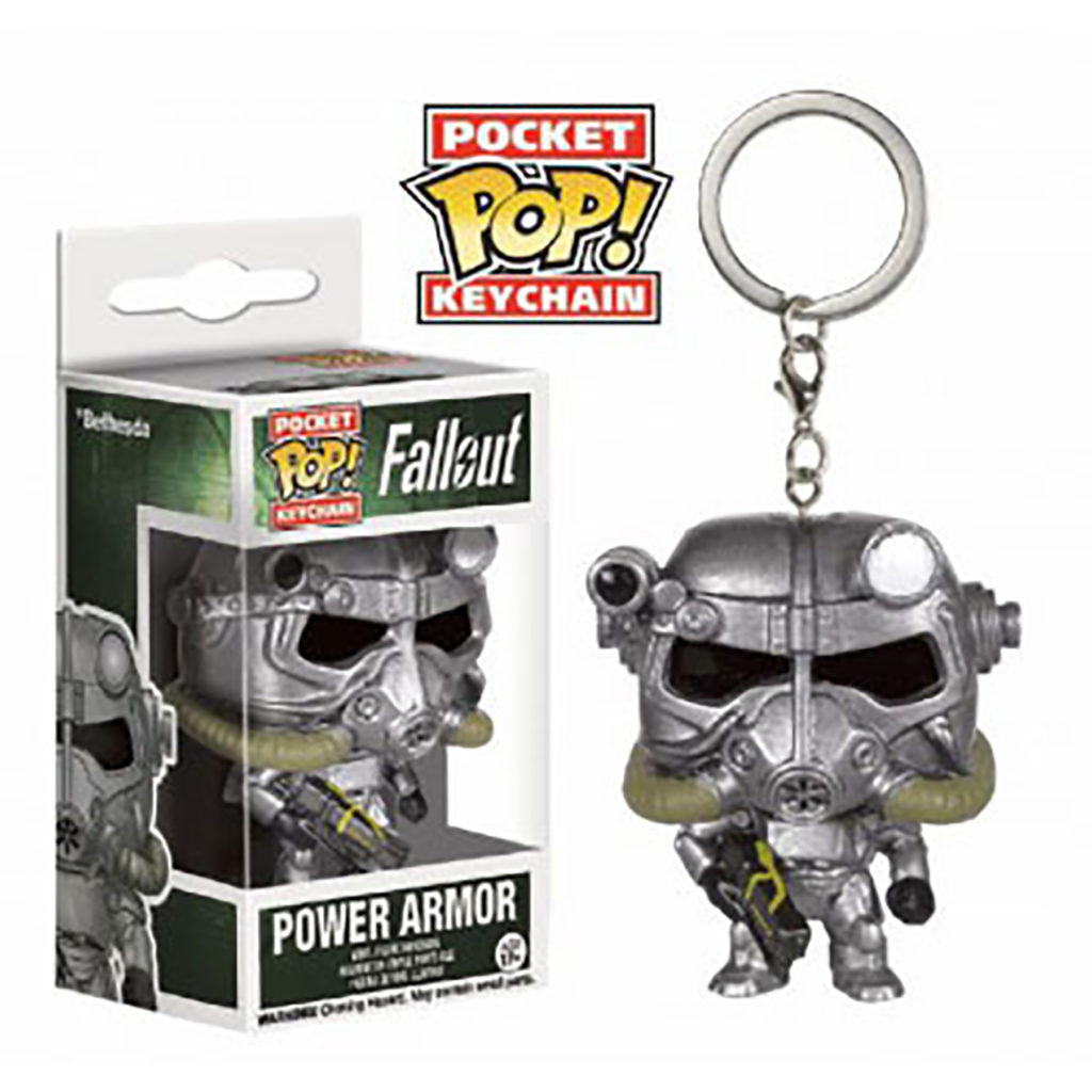 Toy - Pocket POP Keychain- Vinyl Figure - Fallout - Power Armor