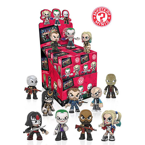 Toy - Suicide Squad - Mystery Mini Figures - 12 pc PDQ