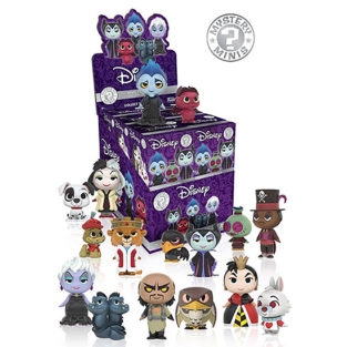 Toy - Disney Villains - Mystery Mini Figures - 12 pc PDQ