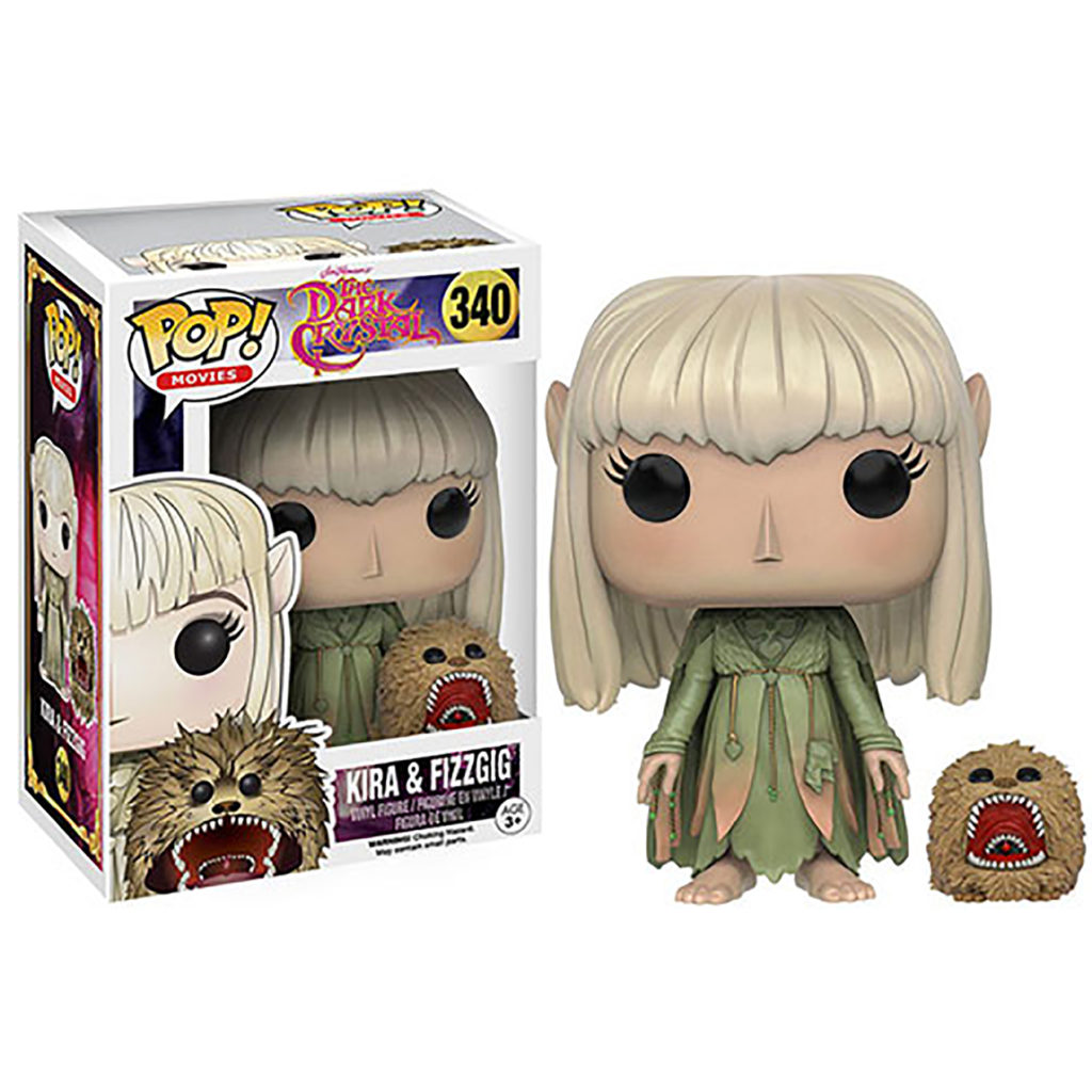 Toy - POP - Vinyl Figure - The Dark Crystal - Kira and Fizzgig