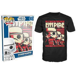 Novelty - Funko - T-Shirt - POP - Size XL -  Star Wars - Stormtrooper Emp