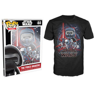 Novelty - Funko - T-Shirt - POP - Size XL -  Star Wars Episode 7 - Force Awakens