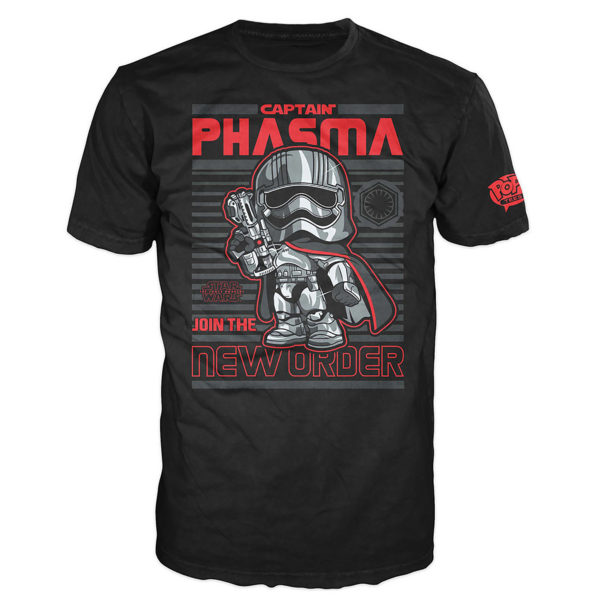 Novelty - Funko - T-Shirt - POP - Size Small -  Star Wars Episode 7 - Captain Phasma