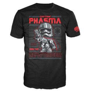 Novelty - Funko - T-Shirt - POP - Size Large -  Star Wars Episode 7 - Captain Phasma