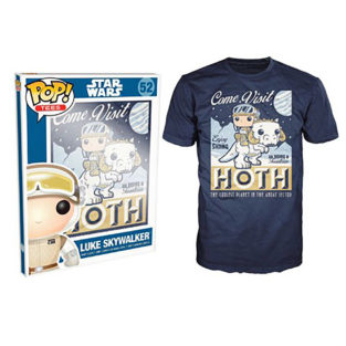 Novelty - Funko - T-Shirt - POP - Size XL -  Star Wars - Visit Hoth Poster