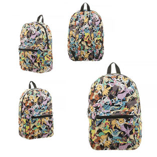 Novelty - Backpack - Pokemon - Eevee Evoultion Sublimated Backpack