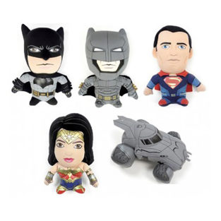 Toy - Super Deformed Plush - Batman Vs Superman - 12 pc CDU