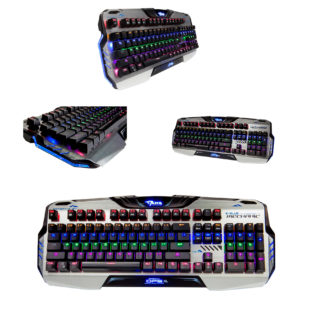 PC - Mazer EKM729 Backlit Aluminum Mechanical Keyboard