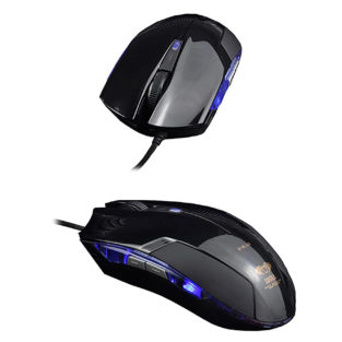 PC - Cobra EMS108 Wired Black Gaming Mouse