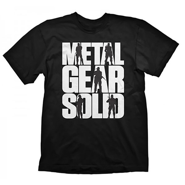 Novelty - Gaya - T-Shirt - Metal Gear Solid V - Size Medium -  Logo