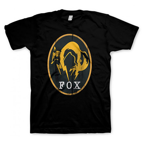 Novelty - Gaya - T-Shirt - Metal Gear Solid V - Size Medium - FOX