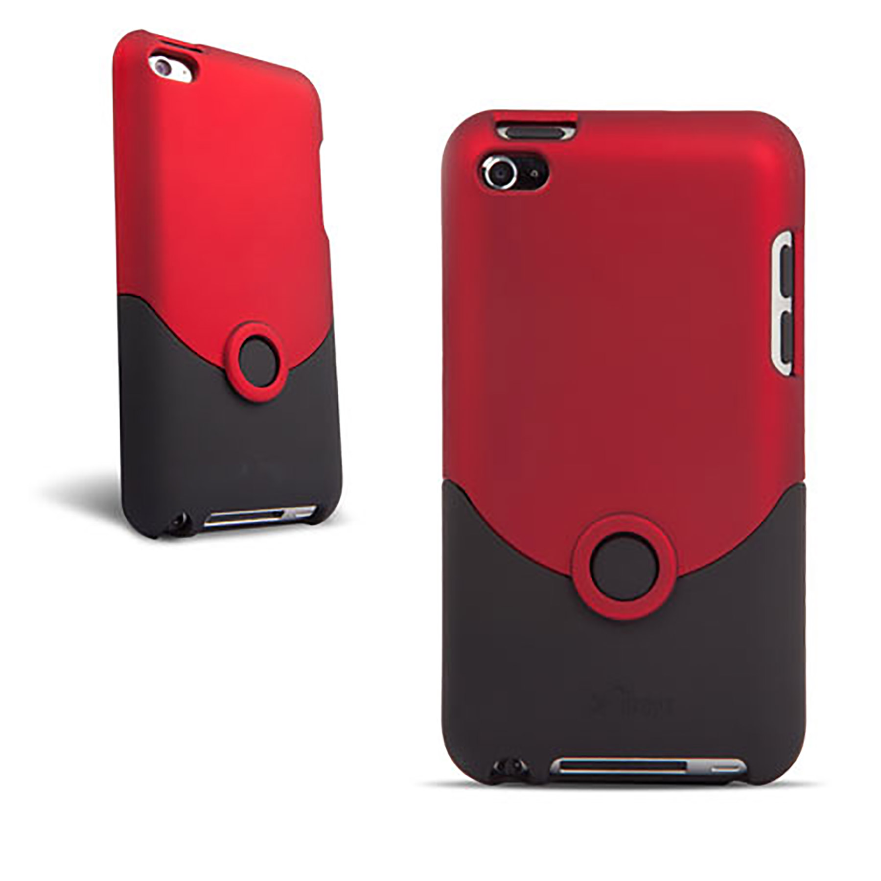 ipod touch 4g case luxe original red black ifrogz. Black Bedroom Furniture Sets. Home Design Ideas