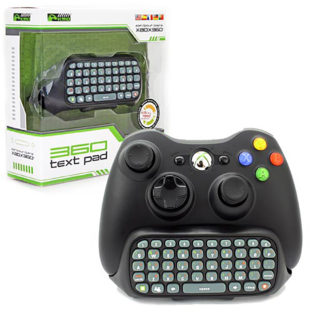Xbox 360 - Adapter - Text Pad - Black (KMD)