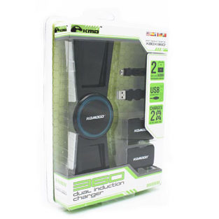 Xbox 360 - Charger - Dual Induction Charger - Black (KMD)