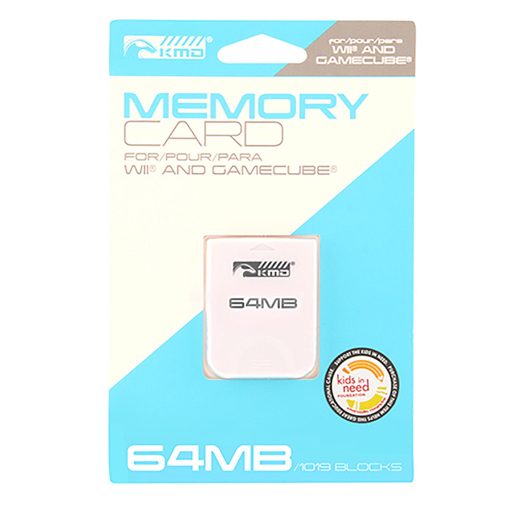 Wii Gamecube Memory Card 64MB 1019 Blocks KMD Game World
