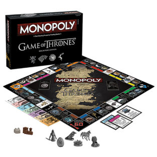 Toy - Board Game - Game Of Thrones - Monopoly