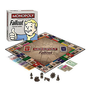 Toy - Board Game - Fallout - Collector's Edition - Monopoly